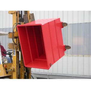 Caisson rotatif 500 L socle