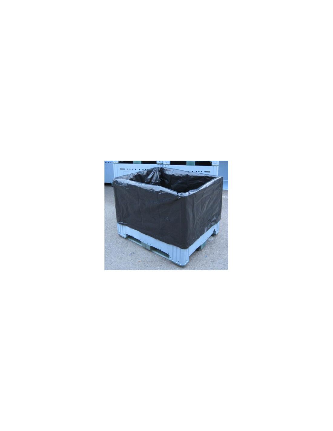 Housse cp noire 60 rlx 70 for Housse isotherme pour palette