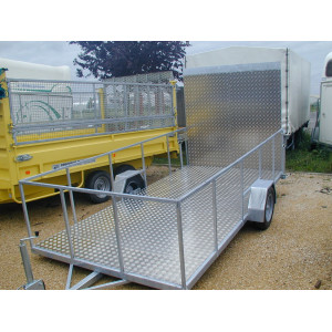 Plancher Rampe aluminium