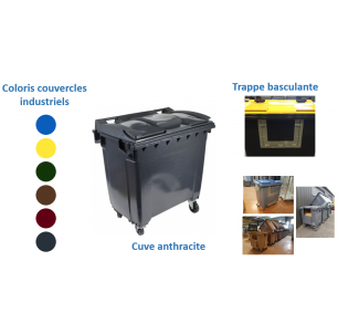 Bac 1000L Trappe anthracite