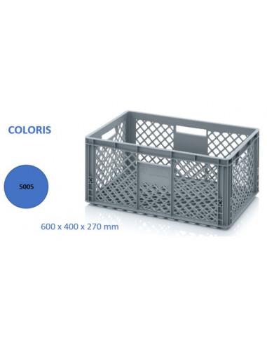 caissette 56 L Ajourée bleu