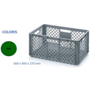 caissette 56 L Ajourée vert