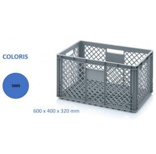 caissette 64 L Ajourée bleu