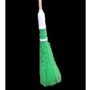 Balai Caniveaux vert manche