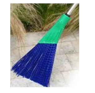 Balai CITY rigide (bleu) avec manche