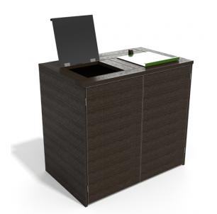 Abri recyclé trappes