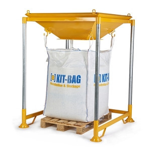 Supports big bags