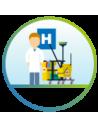 Hôpitaux et zones de soins